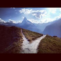 Take the path less traveled Matterhorn Switzerland
