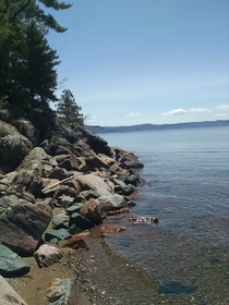 Taken at my beach house last weekend Lake Superior Ontario Canada