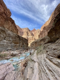 Taken at the bottom of the Grand Canyon on the trek from Havasupai to the Colorado OCx
