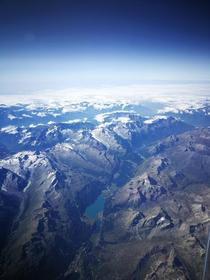 Taken from ft somewhere above the Swiss alps