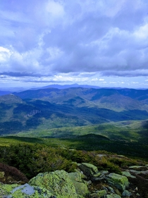 Taken on the Franconia Ridge in the New Hampshire White Mountains along the Appalachian Trail