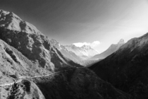 Taken on the way to Mt Everest Base Camp in April of