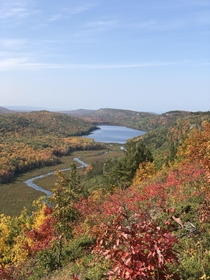 Taken this past September Lake of the Clouds Porcupine Mountains State Park