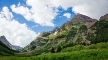 Taken while hiking near Maroon Bells