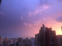 Taken with my phone so sorry for the low quality Londrina Brazil