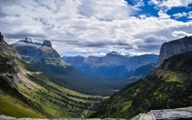 Taking in the vastness of Glacier National Park