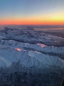 Taking off from anchorage Alaska