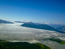 Taku Glacier near Juneau Alaska One of the few expanding glaciers