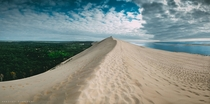 Tallest sand dune in Europe Dune of Pylat France