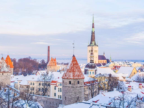 Tallinn Estonia in the Winter