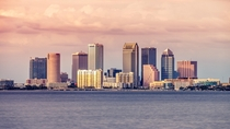 Tampa Bay At Sunset shot yesterday from Ballast Point Pier