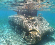 Tank after an invasion
