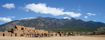 Taos Pueblo NM Continuously inhabited for  years