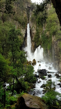 Tarawera Falls Bay of Plenty New Zealand