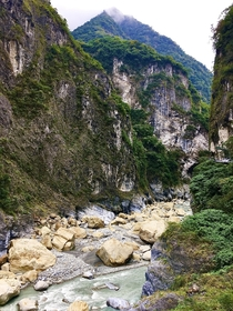 Taroko Gorge Taiwan - the worlds deepest marble gorge