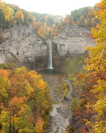Taughannock Falls looking astounding in the rain yesterday
