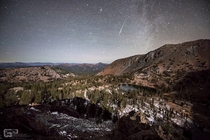 Taurid Meteor over Deadfall Basin in Northern California