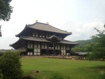 Tdai-ji formerly the largest wooden building in the World