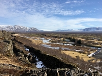 Tectonic plates collide in Iceland