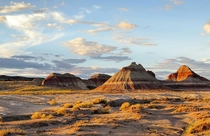 Teepees in Petrified Forest National Park Arizona
