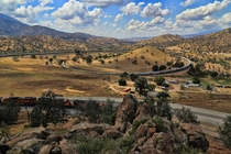 Tehachapi Loop California
