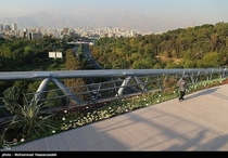 Tehran from Nature Bridge