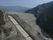 Tehri Dam on the Bhagirathi Garhwal India