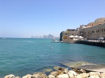 Tel Aviv from the  Year Old Jaffa Port