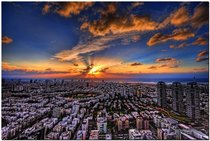 Tel Aviv Israel - Sunset