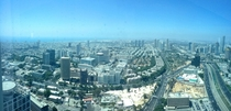 Tel Aviv panorama from the Azrieli Towers
