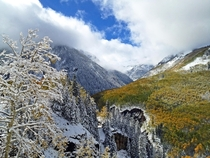 Telluride Fall Meets Winter