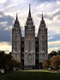 Temple Square - Salt Lake City Utah  OC