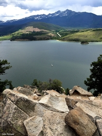 Ten Mile RangeDillon Reservoir Colorado