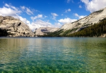 Tenaya Lake an often overlooked beauty in Yosemite National Park CA