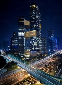 Tencent Seafront Towers Shenzhen China