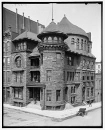 Tennessee Club circa   N Court Avenue Memphis Tennessee Designed by Edward Terrell The style is a mixture of Victorian Romanesque and Moorish