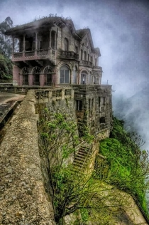 Tequendama Falls Hotel Colombia - Rumored to be haunted it will now be turned into the Tequendama Falls Museum of Biodiversity and Culture -