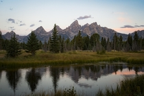 Teton Range Wyoming USA