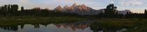 Teton Sunrise from Schwabacher Landing