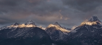 Tetons at first light  x