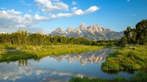 Tetons in Wyoming US - x