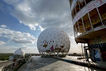 Teufelsberg Spy Station Germany by Rebecca Bathory in Soviet Ghosts