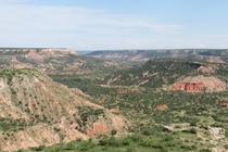 Texas has a big canyon too Palo Duro Canyon