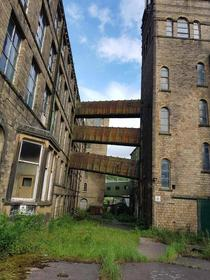 Textile mill in Marsden West Yorkshire