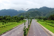 th Avenue Islamabad  By Faraz Niaz  x-post rExplorePakistan