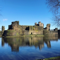 th Century Caerphilly Castle - The Biggest Castle In Wales x OC