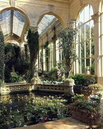 th century Italianate Orangery of the Castle Ashby House Northamptonshire East Midlands England