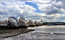 Thames Barrier East London