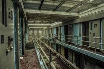 Thanksgiving Morning at the State Penitentiary - Once used as Death Row