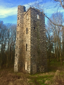 thC folly Perthshire Scotland Four-storey Binnhill Tower was built in  by Francis Gray th Lord Gray of Kinfauns Castle to serve as both an observatory and talking point in the lavish landscaped policies of his estate